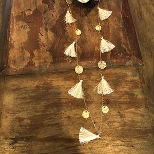 Francesca's Tassel Necklace
